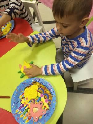 Арт-студия детям от 5 до 9 лет в Перово в семейном клубе Маняня