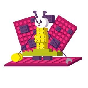 Robototehnika po metodike Lego-Education v Perovo v semejnom klube Manjanja dlja detej ot 7 let