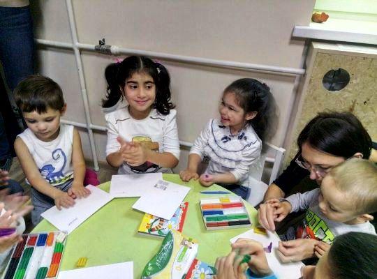 мастер классы для детей в семейном клубе Маняня